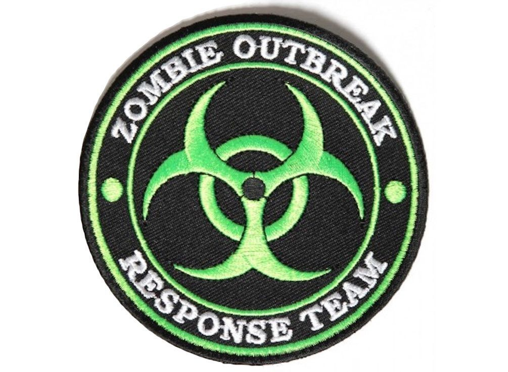 Zombie Outbreak Team Denim Vest