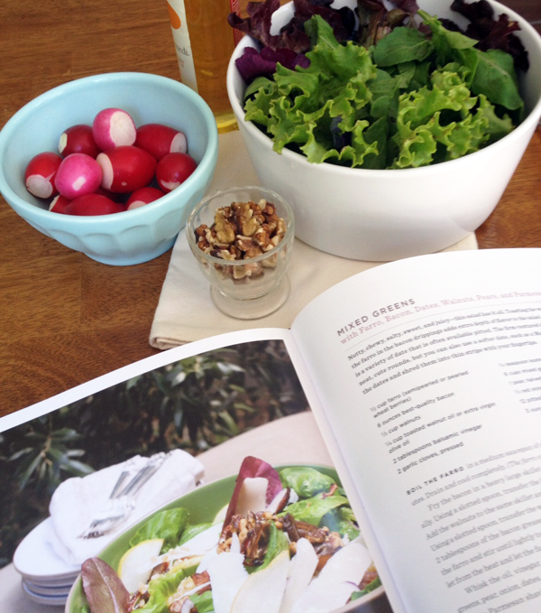 Salad for Dinner by Jeanne Kelly review via take2theyresmall.com