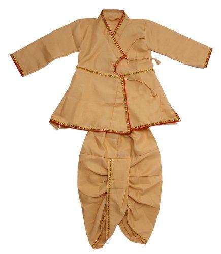 Traditional Angarkha Kurta With Dhoti For Baby Boy Baby
