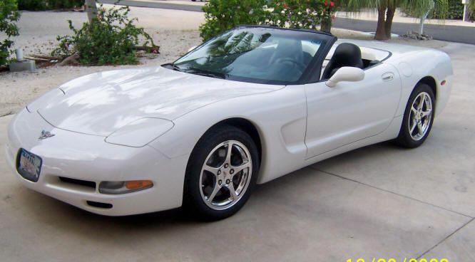 2003 Corvette Convertible Speedway White With Black Interior Corvette Corvette Convertible Chevrolet Corvette