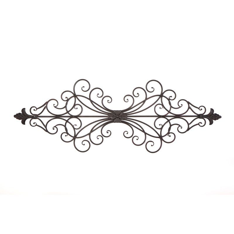 Agnes Wall Du00e9cor By Byron Anthony Home Metal Flower Wall Decor Living Wall Decor Iron Wall Art