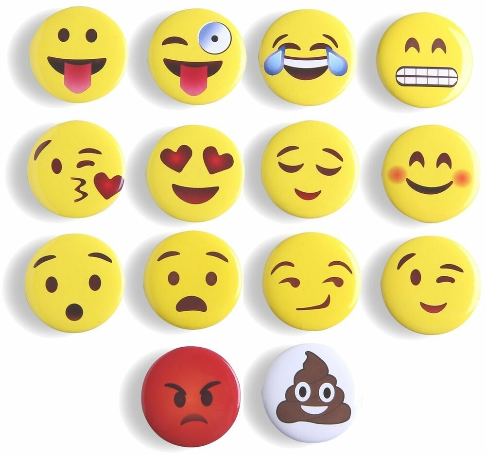 Smiley Face Fridge Magnets Memo Magnet Notice Board 1 24 First class post 12