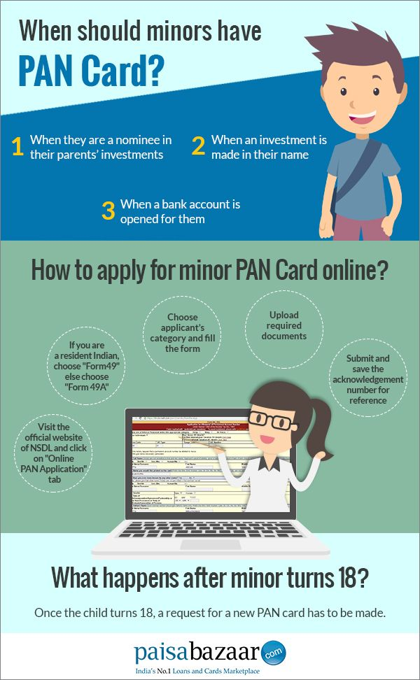 Need To Know About Applying Minor PAN Card - Paisabazaar | PAN Card ...