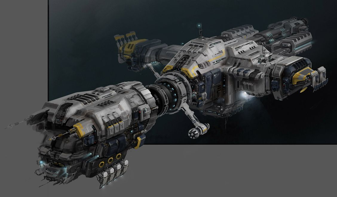 Top concept ships: Spaceship concept by Team True | Vehículos Exo  QT71