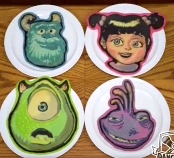 monsters INC pancakes