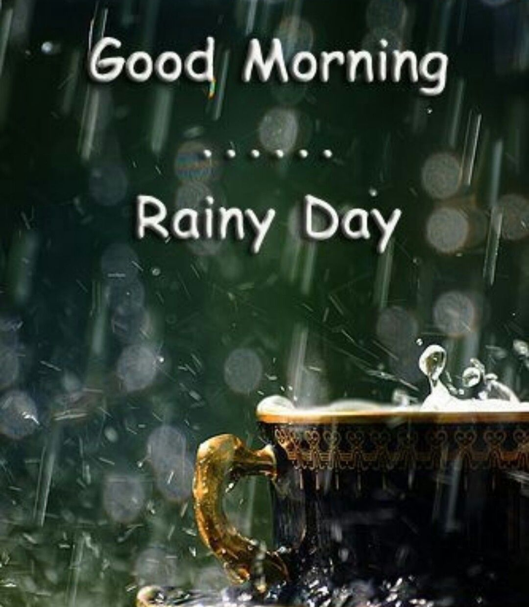 Let it rain drink coffee
