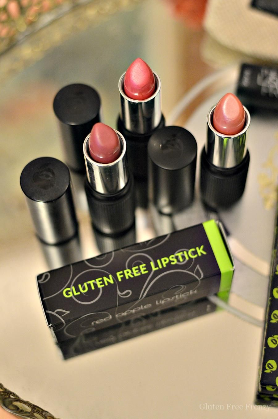Red Apple Lipstick glutenfree makeup is perfect for all
