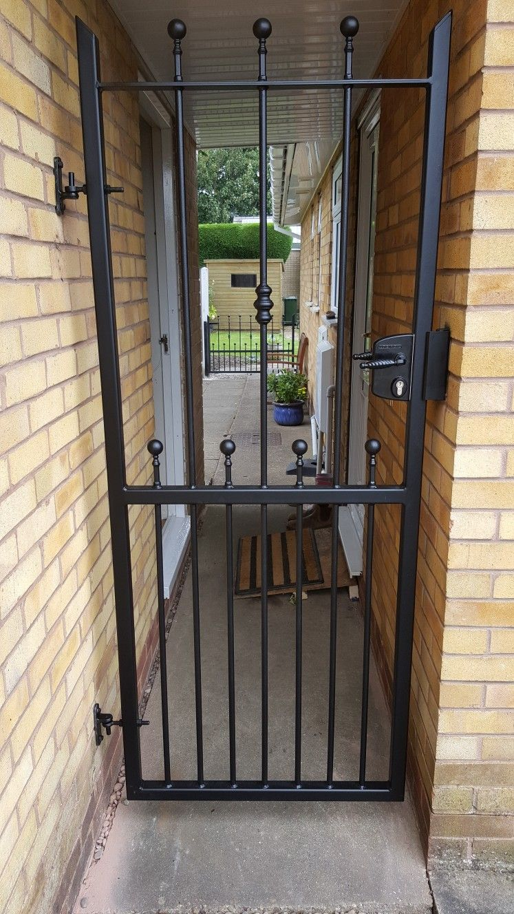 Whsrfe Metal Side Gate With Lockbox Lock Buy Online At Www
