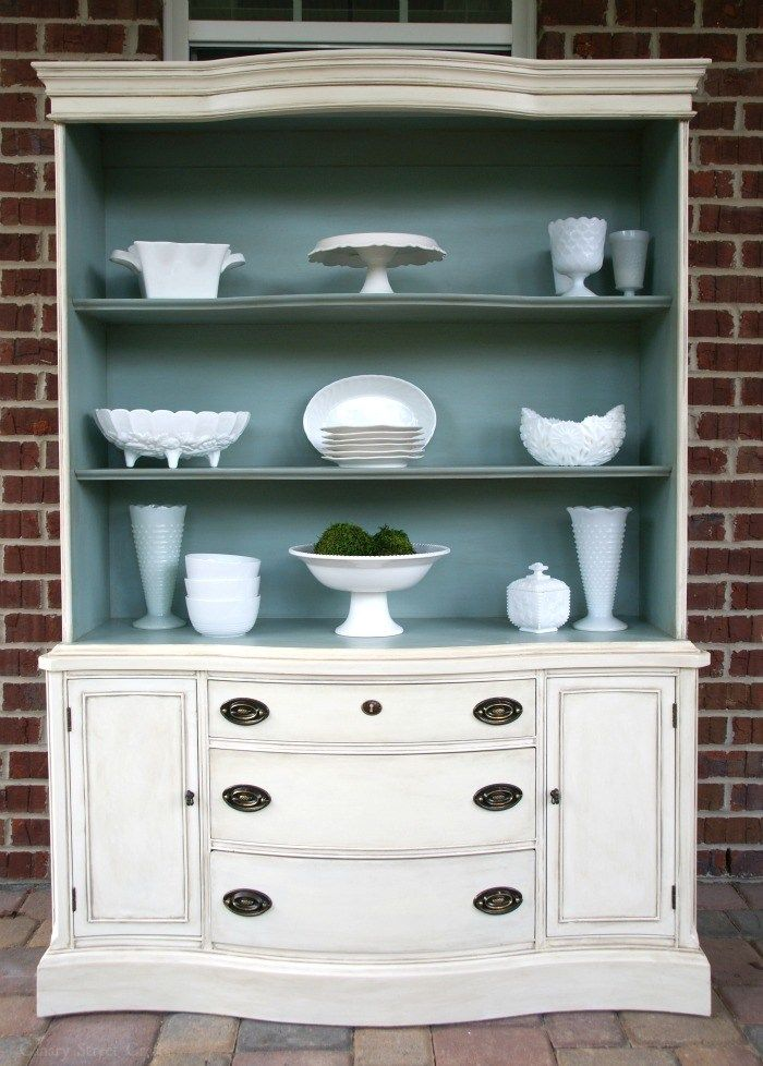 How To Age Furniture With Paint is part of Furniture, Painted furniture, Antique china cabinets, Chalk paint furniture, Refurbished furniture, Paint furniture - How to age furniture with paint  An easy technique for layering paint colors to create a beautiful, vintage look