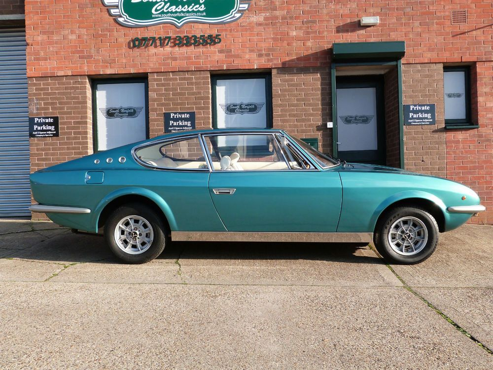 1969 VIGNALE FIAT SAMANTHA COUPE , SUPER RARE ! 1 of only 27 RHD ...