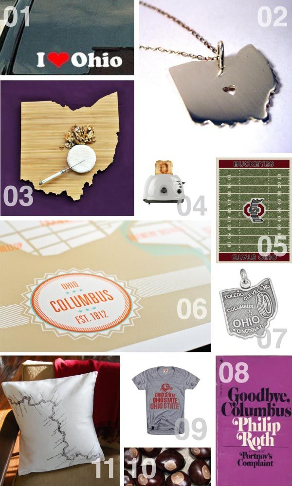 Columbus ohio christmas gift ideas