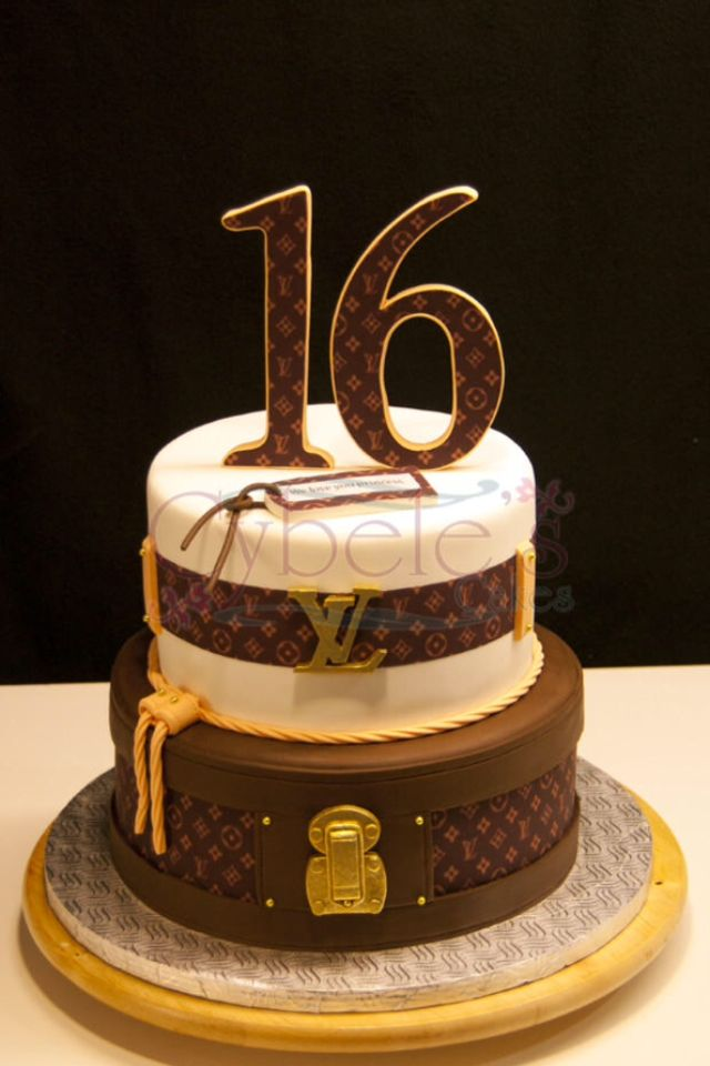 Lv Inspired Cake Cakes Cupcakes Desserts In 2019 16