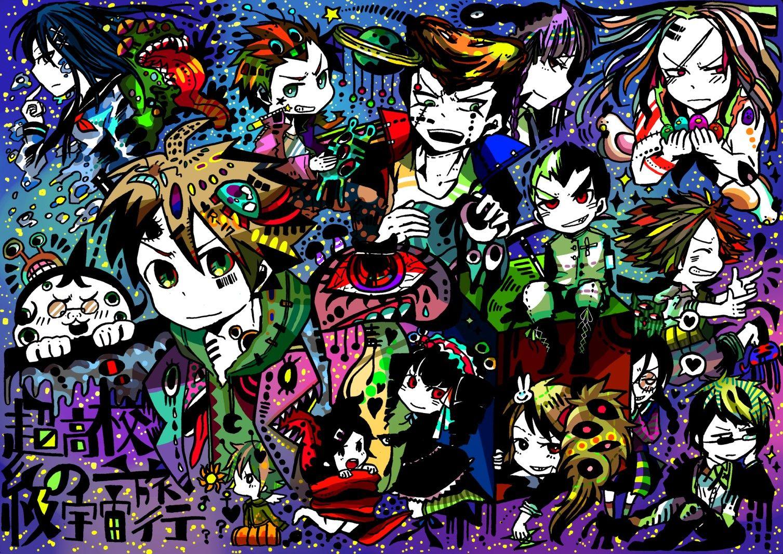 Dangan Ronpa Danganronpa, Anime, Creative drawing