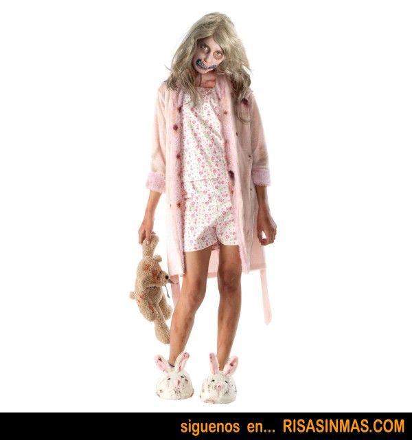 disfraz nia zombie de the walking dead risa sin ms