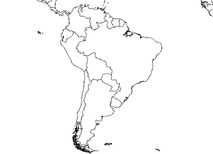 South America Blank Map Quiz latin america physical map quiz ...
