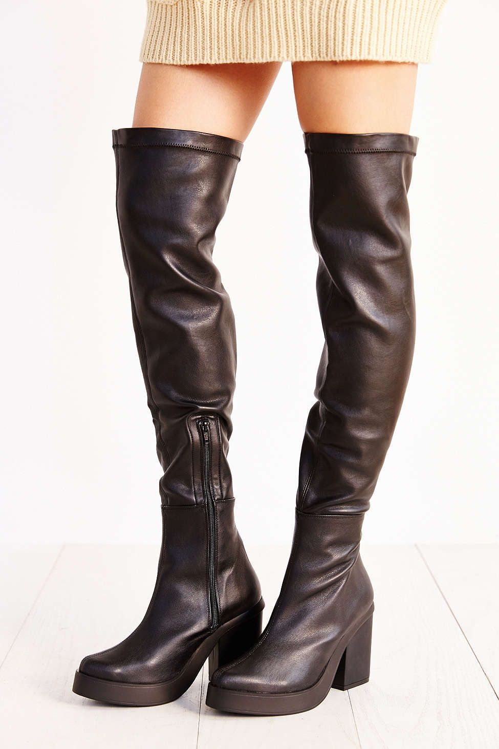 Miista Emi Over-The-Knee Platform Boot