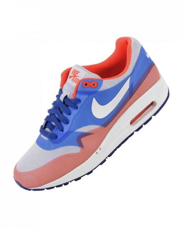 new product a4865 f4b5c Nike Air Max 1 Hyperfuse - Pure Platinum Sail Hyper Blue Total Crimson  Release date  June, 2013 Source  Inflammable