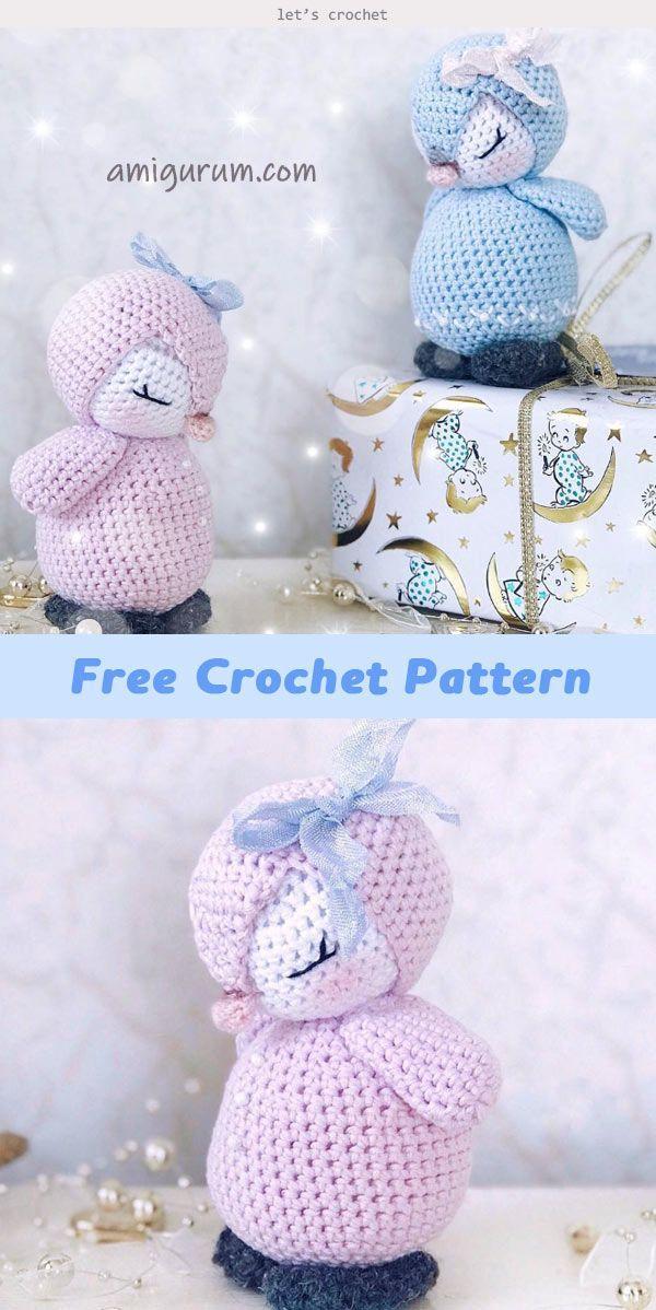 Penguin Amigurumi Crochet Free Pattern #amigurumicrochet
