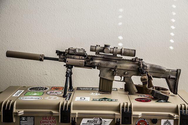 SCAR 17 #www LEGunSales com   Scar   Guns, Tactical rifles, Assault