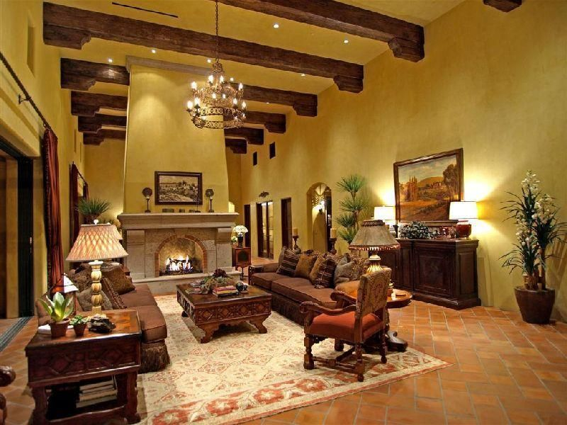 Tuscan Home Decor Ideas : Tuscan Style Furniture To More Formal Design