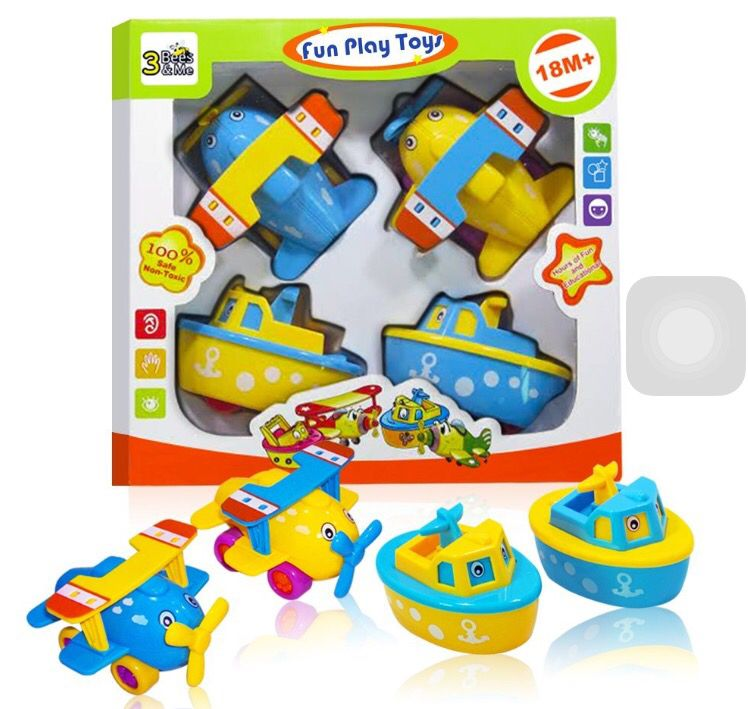 FUN Bath Toys - Boats & Planes For Toddlers & Older Kids at Amazon ...
