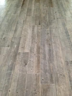 Shop Style Selections Natural Timber Ash Glazed Porcelain Indoor Outdoor Floor Tile Common 8