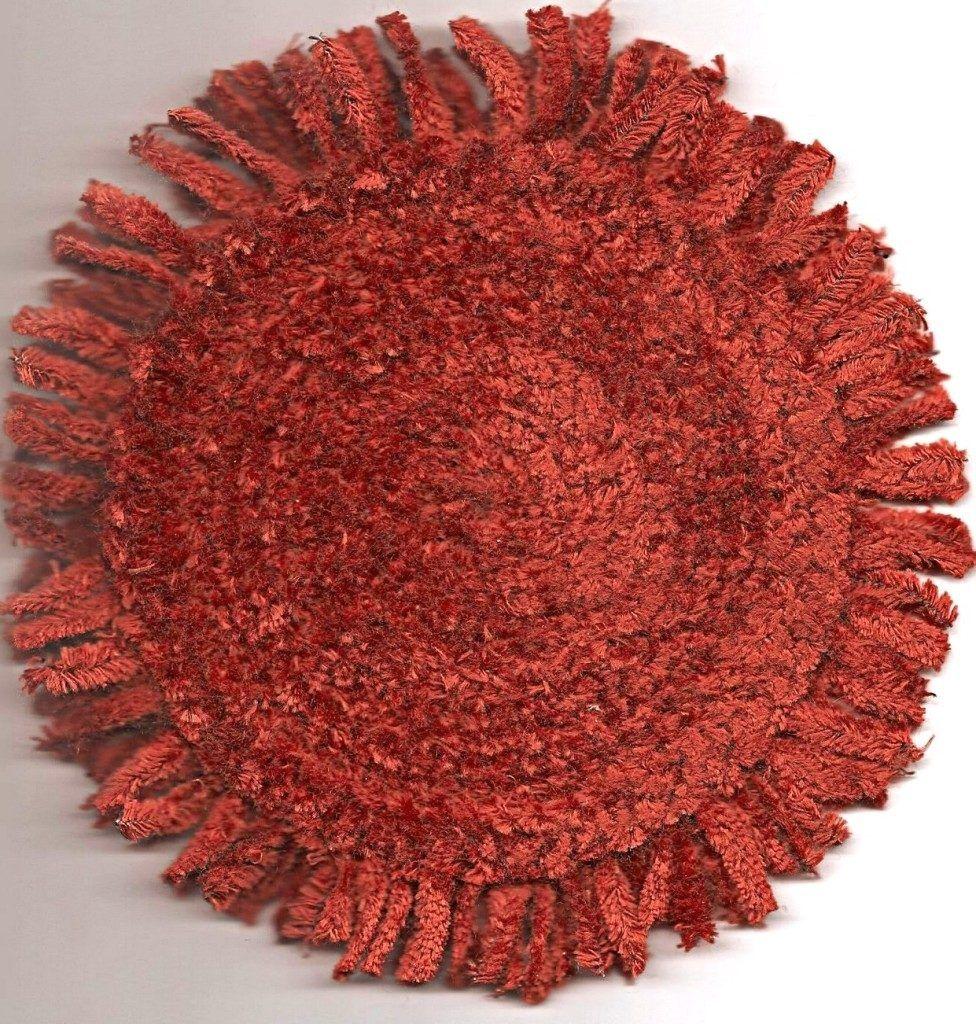 rust orange bathroom rug | bath rugs & vanities | pinterest