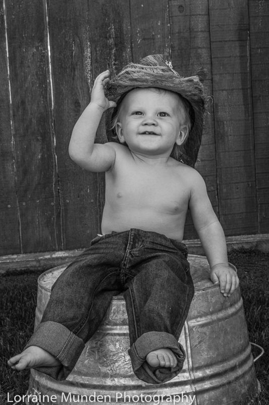 A little Cowboys 1st Birthday Vintage Version