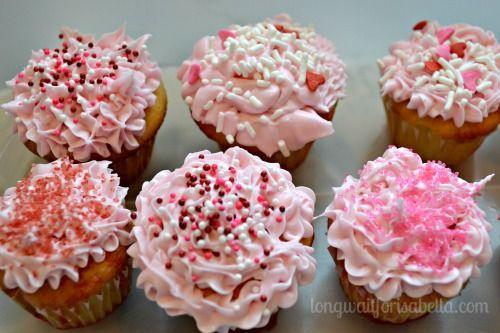strawberry lemon poke cupcakes