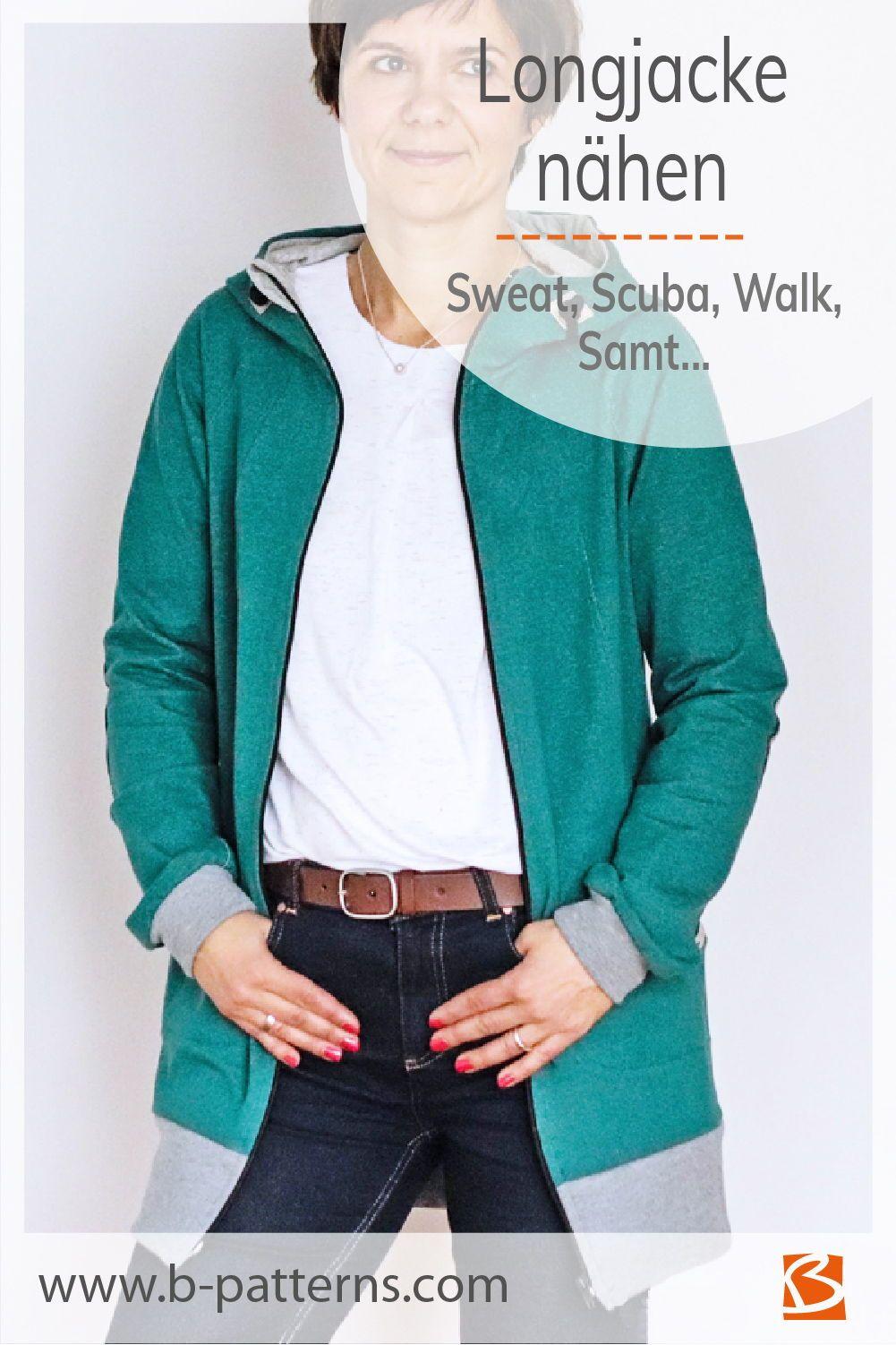 Figurfreundliche Jacke für Damen nähen in 2020
