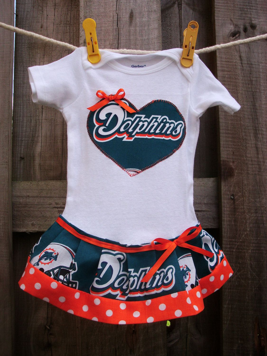 2851c2ae Miami Dolphins inspired cheerleader dress by SMPstore on Etsy ...
