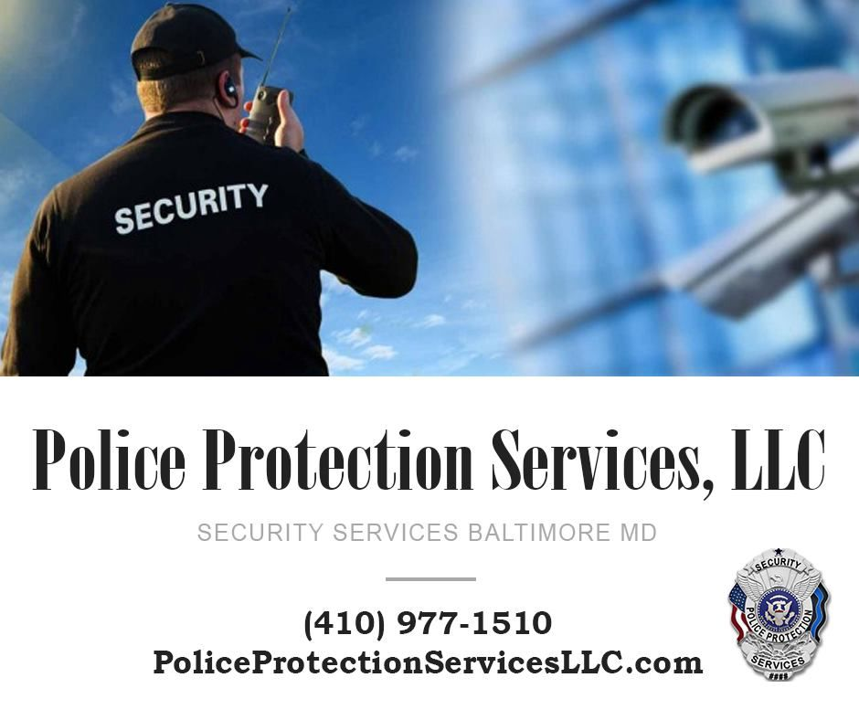Police Protection Services Armed Security Guard Security Service Protection