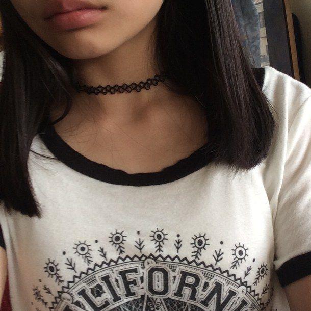 Alien Choker Choker Necklace Chokers Cute Indie Indie Girl