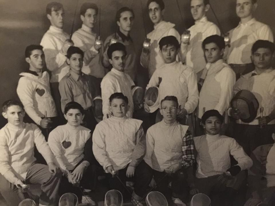 This was me on #Cheshireacademy's fencing team, can you find me?