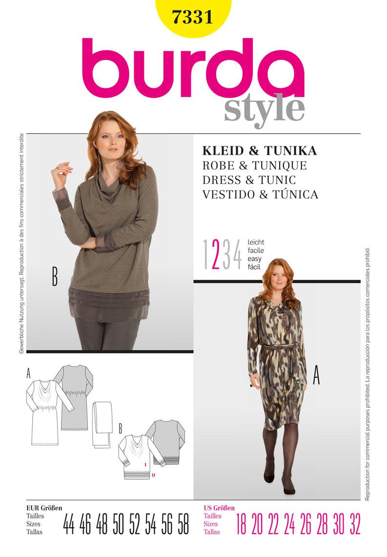 Httpjaycottsproductsbd7331 diseo indumentaria womens dress and tunic burda sewing pattern no jeuxipadfo Choice Image