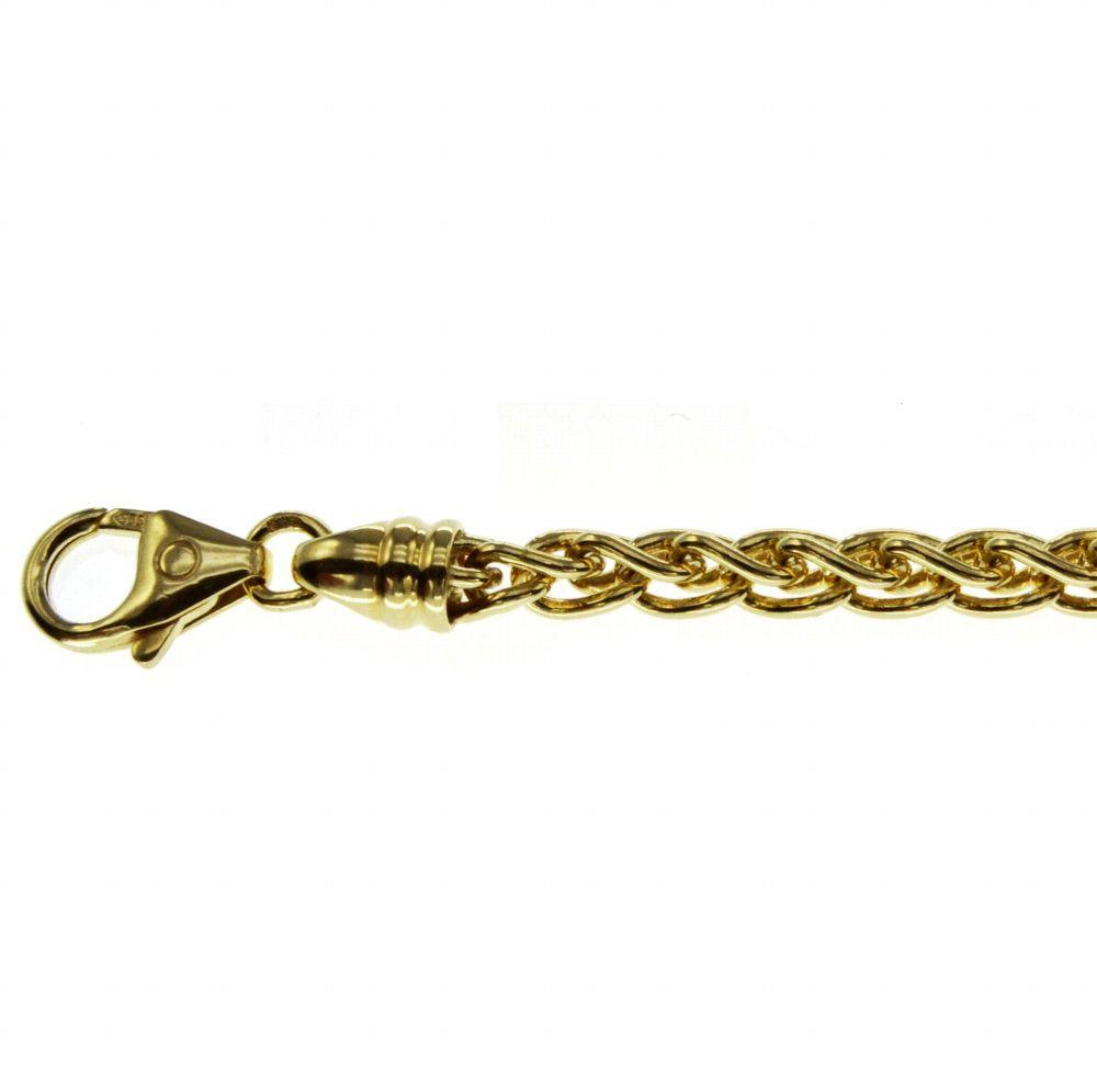 50cm Zopfkette 585 Gelbgold 2mm Kaufen Bei Hood De Material