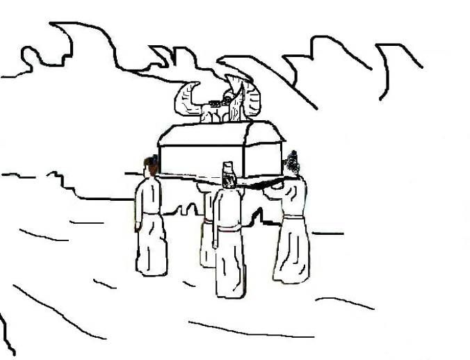 Joshua And Israel Cross The Jordan River This Coloring Page Will