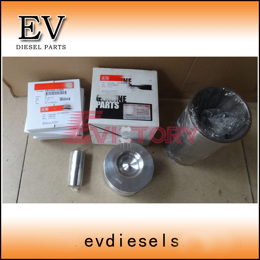For Cummins Di Type Engine 4b3 3 B3 3 Qsb3 3 Piston And Piston Ring Set Piston Ring Cummins Pistons