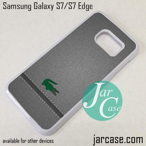 coque samsung galaxy s7 edge lacoste