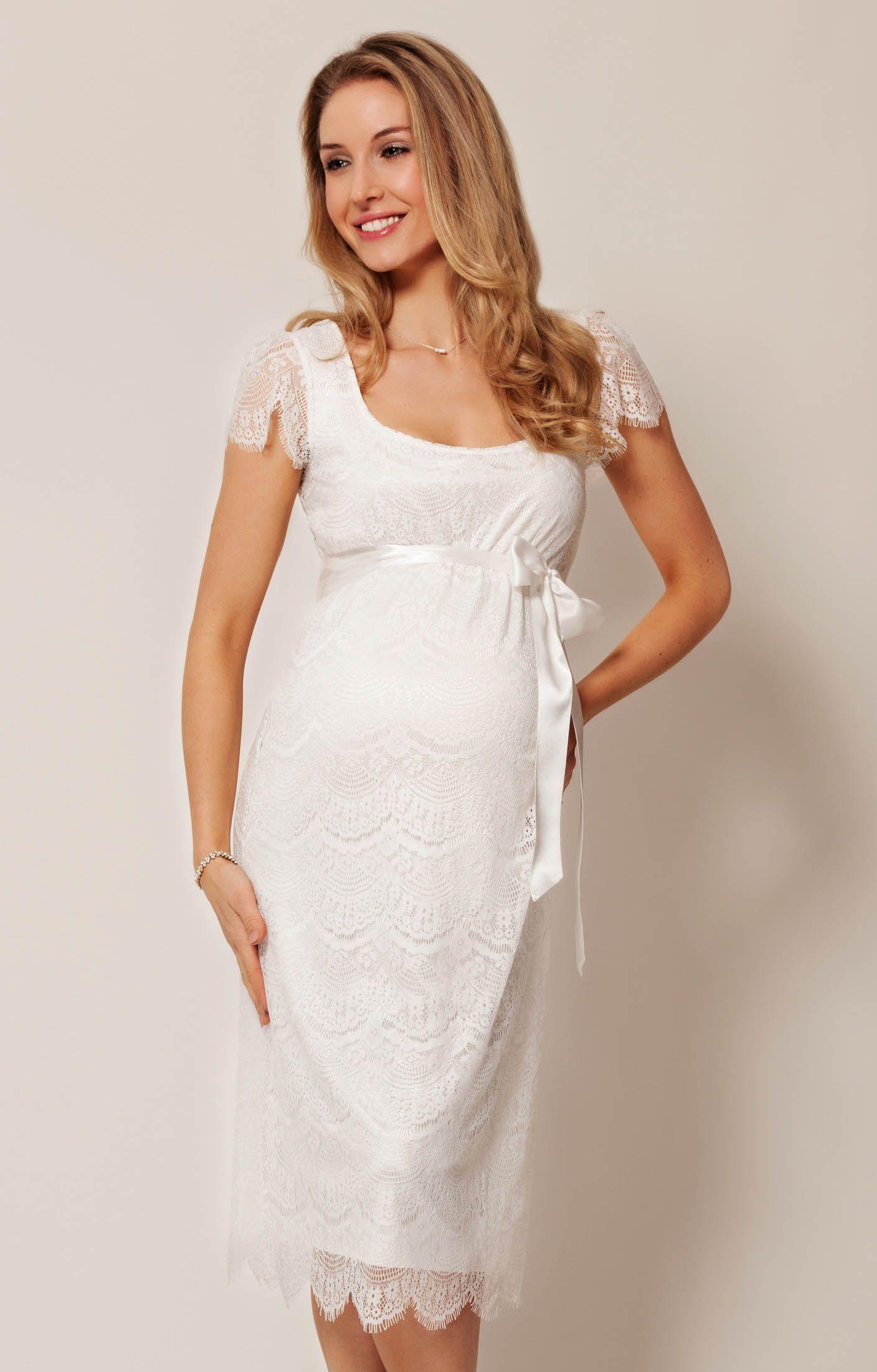 Flutter Dress Short   Tiffany rose, Maternity dresses and Ivory