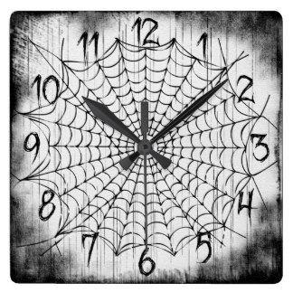 Spider Web Clock Clock Web Clock Image