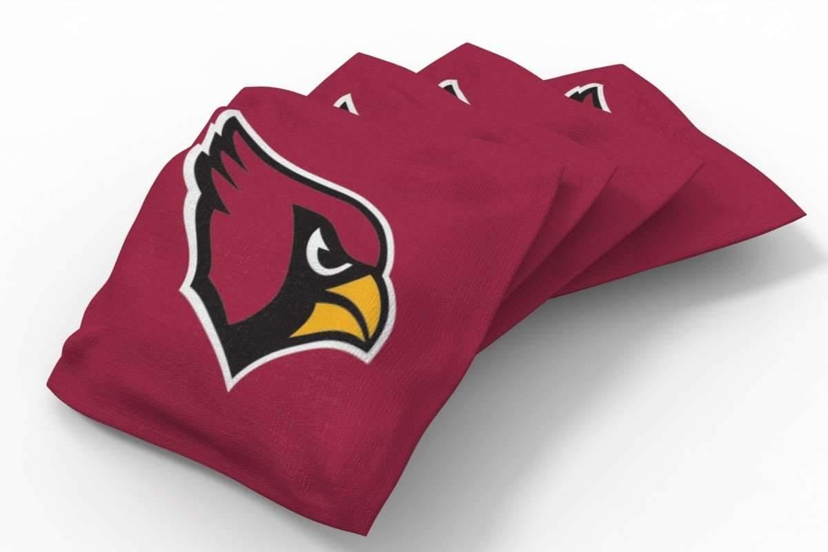 Magnificent Arizona Cardinals Solid Bean Bags 4Pk A Nfl Arizona Lamtechconsult Wood Chair Design Ideas Lamtechconsultcom