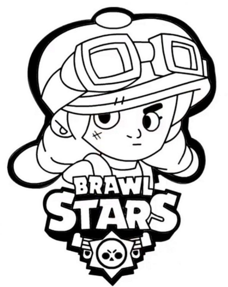 Brawl Stars Ausmalbilder Kinder Ausmalbilderspiele De Star Coloring Pages Coloring Pages Coloring Books