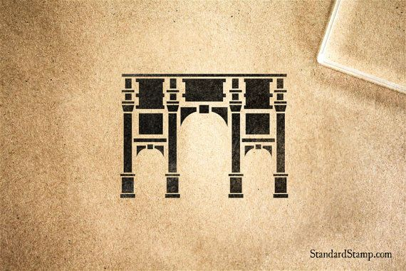 Marble Arch London Rubber Stamp 2 X 2 Inches Etsy Marble Arch London Marble Arch Stamp