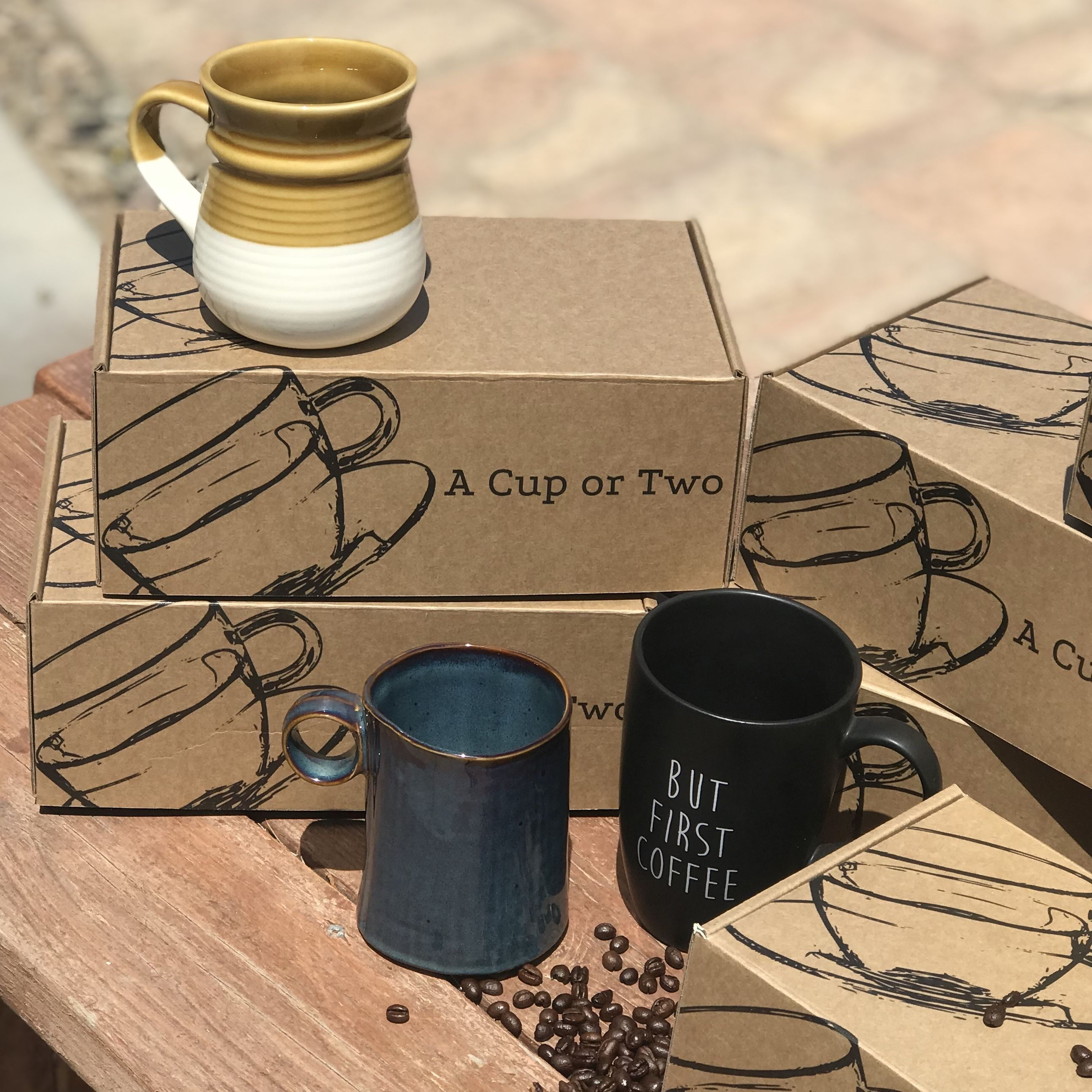 Coffee Mug and Tea Cup subscription box, A Cup or Two