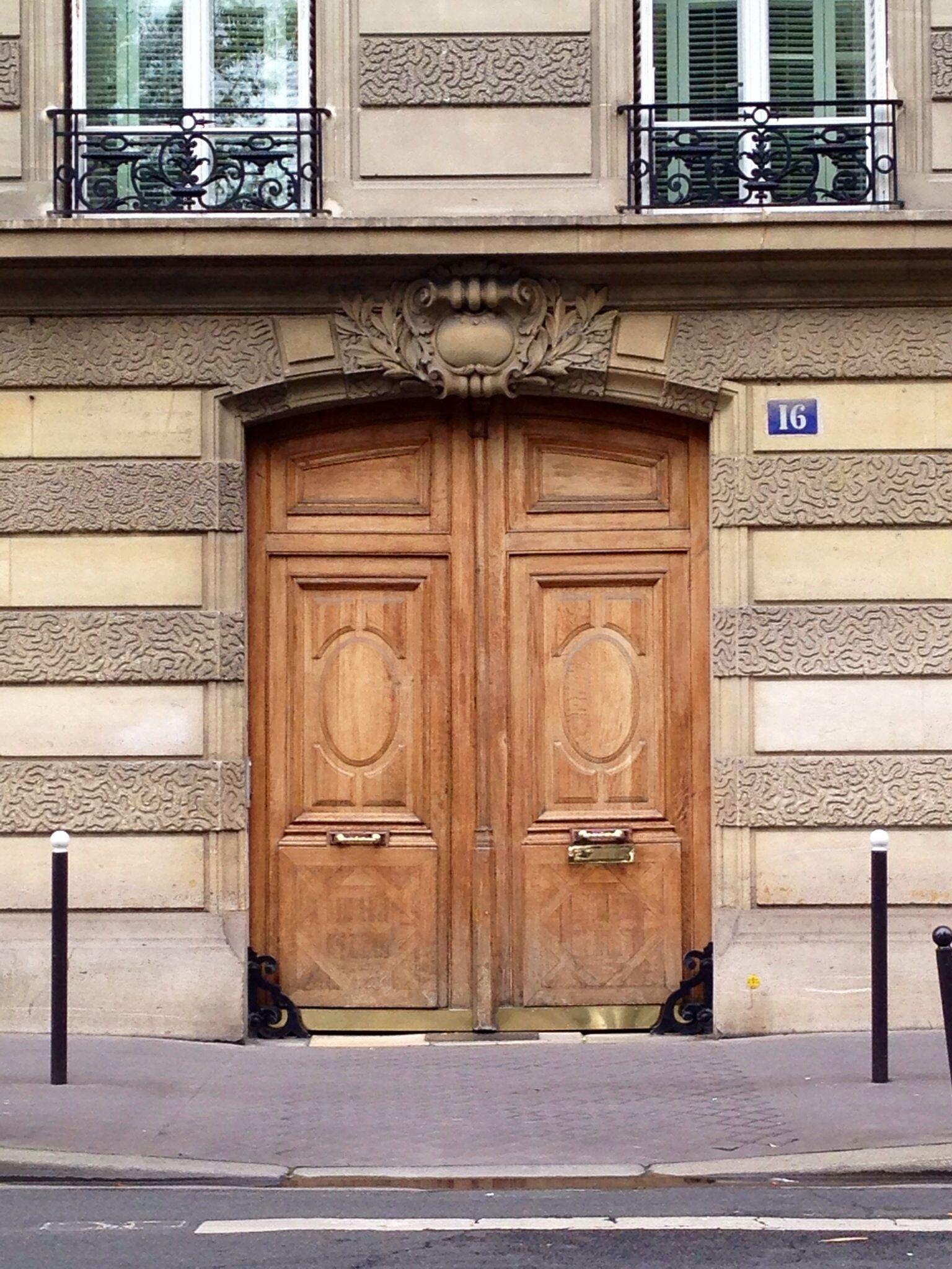 Big Wood Entry Doors Paris Paris Doors Pinterest Wood Entry Doors