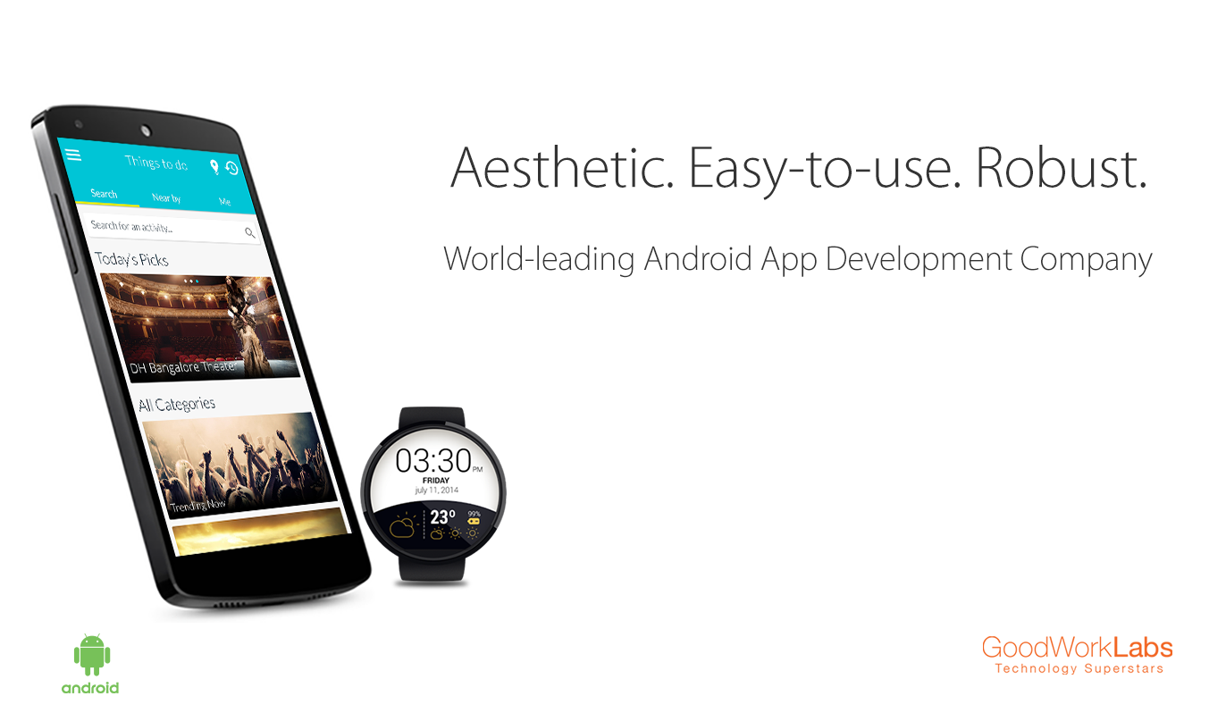 Best Android App Development Company in Bangalore, India