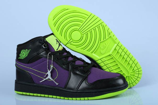 retro 1 jordans for men green
