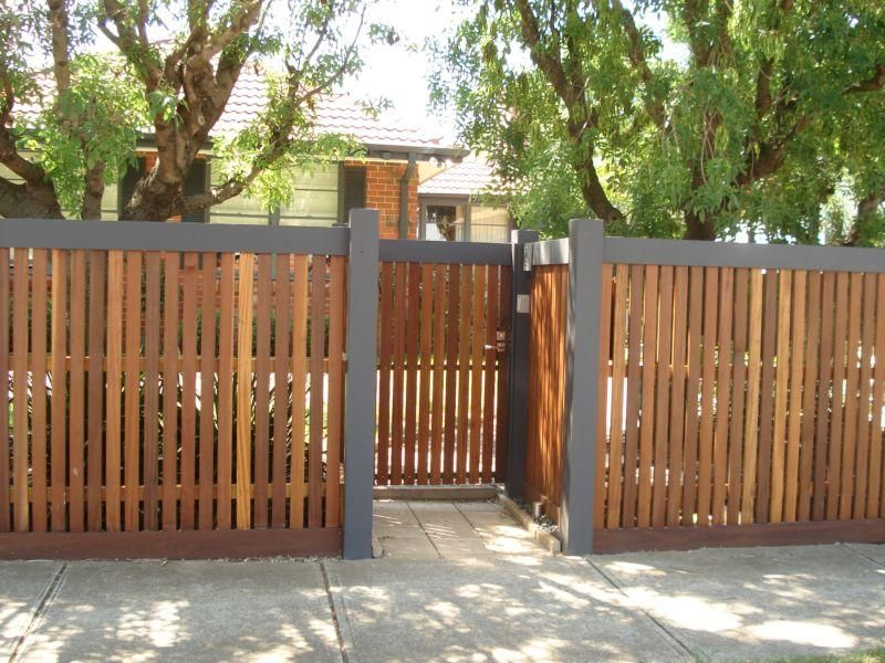 Best 25+ Front fence ideas on Pinterest | Modern fence design ...