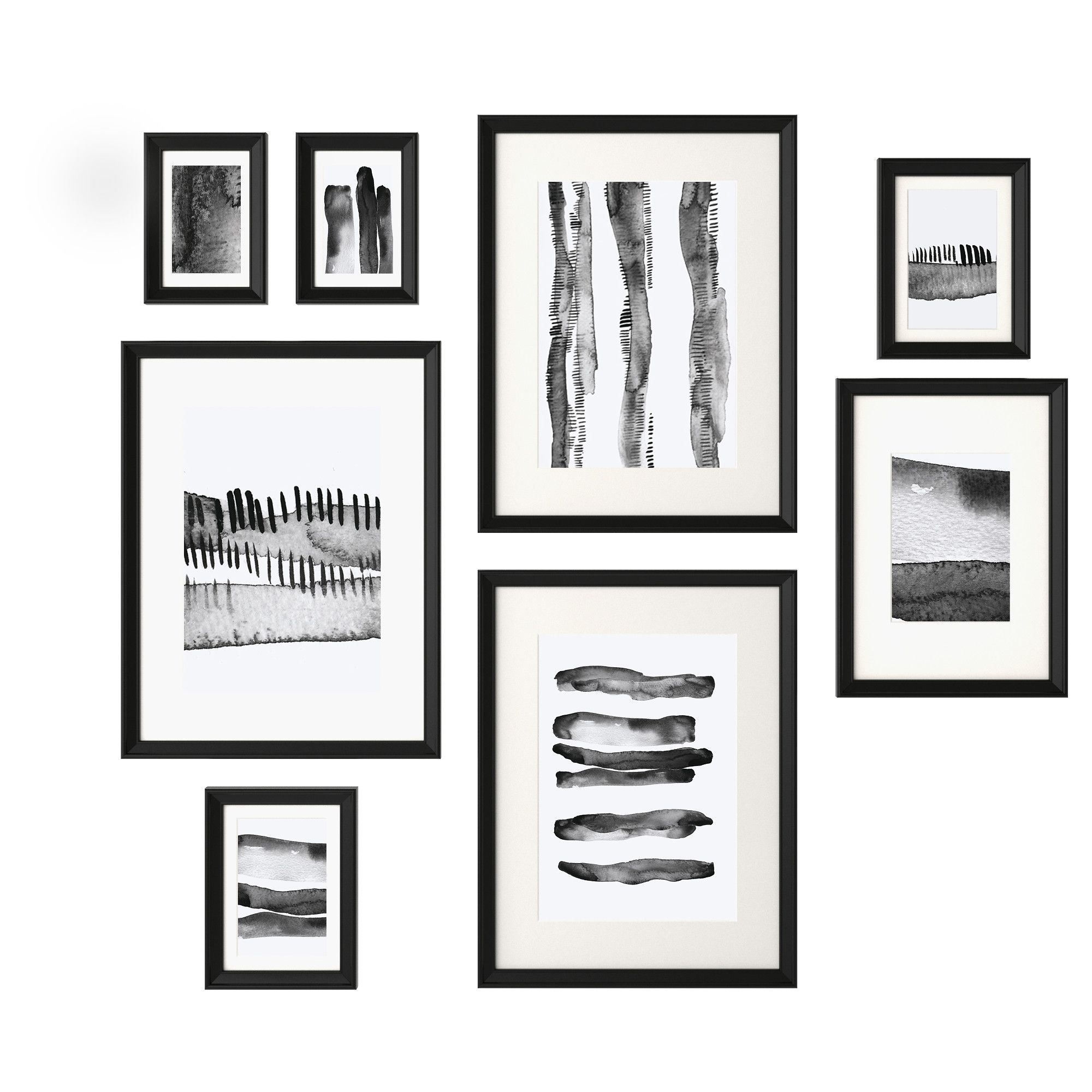 ikea knoppÄng frame with poster set of 8 the included collage